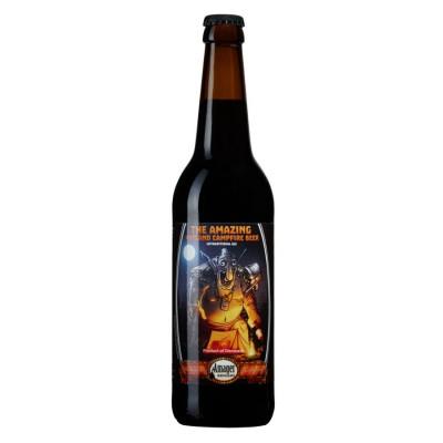 Amager, The Amazing Gotland Campfire Beer -Framsida